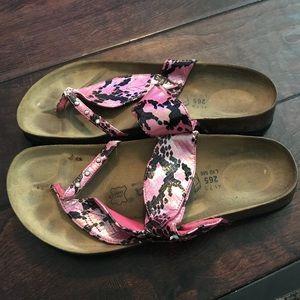 Betula Snakeskin Birkenstocks Sandals